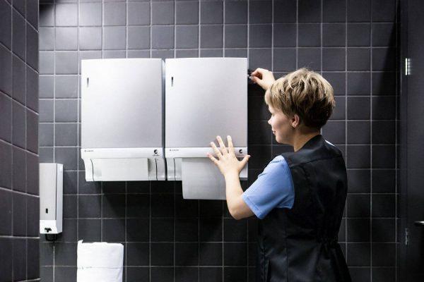 Kiintesitonhuolto hygieniatuotteet